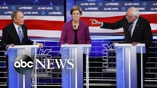 Democratic candidates go after Bloomberg in heated debate | ABC News