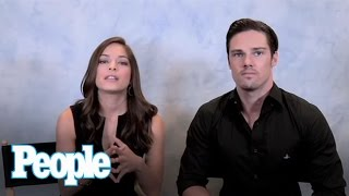 Kristin Kreuk And Jay Ryan Are Beauty And The Beast | People