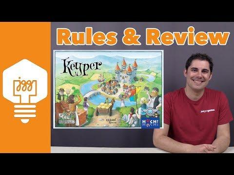 JonGetsGames - Keyper Review