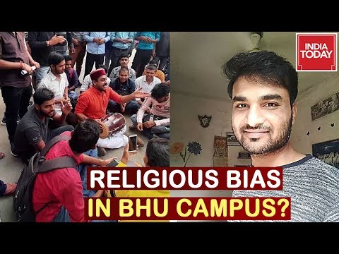 BHU Students Protest Over Appointment Of Muslim Professor  To Teach Vedic Subject