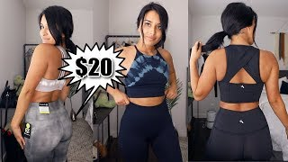 Trying AFFORDABLE & TRENDY Gym Clothes | Target Try-On Haul