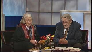 Augandzi på TV i 1990 - i portrettprogram om Anne Raknes
