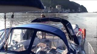 preview picture of video '2007 Sailing to San Sebastian, Cote Basque'