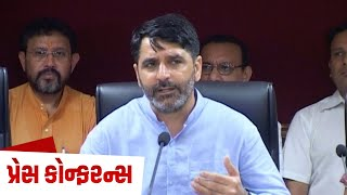 Shankar Chaudhary addresses the media on the steps taken by Govt to mitigate Swine Flu
