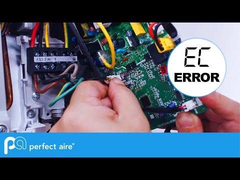 Air conditioner fixed E5 error code problem solution in