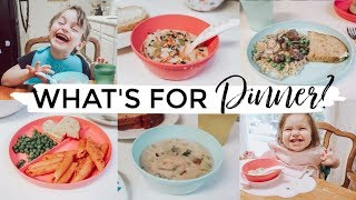 WHAT'S FOR DINNER?  PICKY TODDLER FAVORITES!!! | FAMILY MEAL IDEAS + RECIPES  2019 | Justine Marie