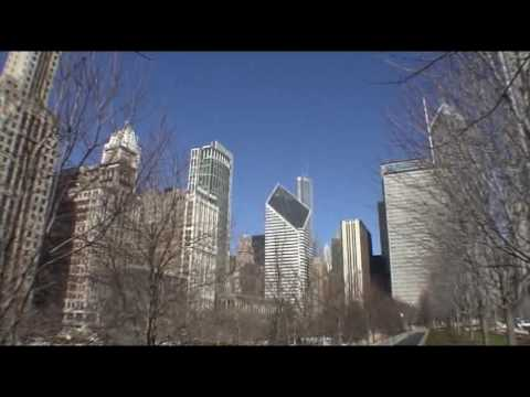 The cityscape, as seen from Millennium Park