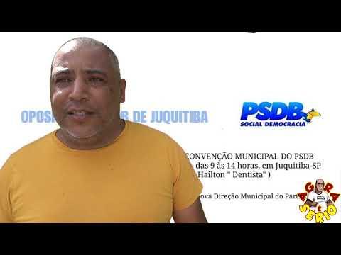 Domingo dia 24 Convenção do Psdb de Juquitiba