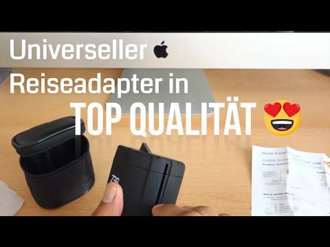 BEZ® Universal Reiseadapter / Universal Reisestecker / Adapter USA / beste internationale Stecker
