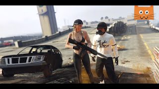 GTA 5 - Weird moments / GIRL