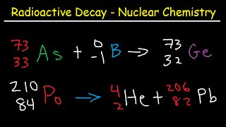 Alpha Particles, Beta Particles, Gamma Rays, Positrons, Electrons, Protons, and Neutrons
