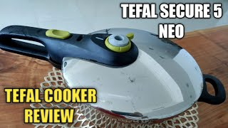 Tefal Secure 5 Neo Pressure Cooker : Rich in security, rich in taste ||   Tefal cooker review ||