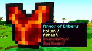I Found SECRET Minecraft Armor Enchantments!