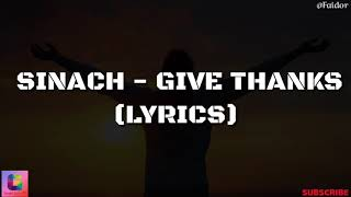 Sinach Joseph   Give Thanks (Video Lyrics)