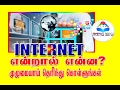 What is the Internet? Find out completely | Tamil | MEDIA INFO