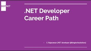 How to become a .net developer?