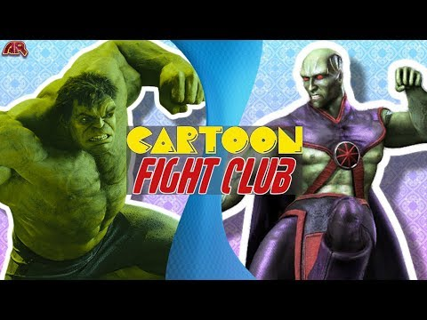 HULK vs MARTIAN MANHUNTER! (Justice League vs Avengers) | Cartoon Fight Club Simulator