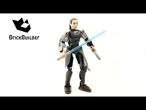 Vidéo LEGO Star Wars 75528 : Rey