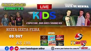 LIVE KIDS - BRINCANDO COM ARTE TRAMÁTICA