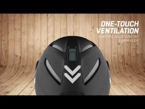 ALPINA Attelas - der erste Helm, der sein Volumen ändert! (60sec.)