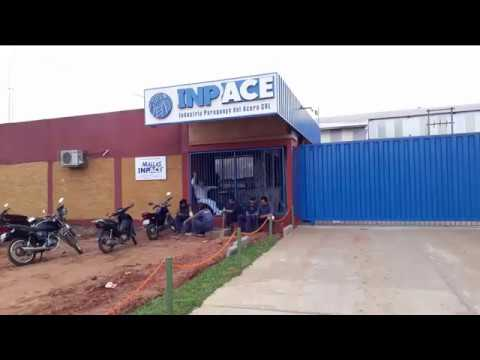Instalação da máquina MT 150 em Assunção, Paraguai