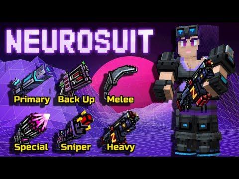 NEUROSUIT Set - Pixel Gun 3D
