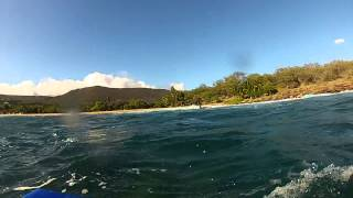 preview picture of video 'Catching some waves after work- Manele Bay, Lanai'