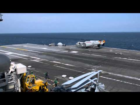 First Video Of The US Navy's X-47B Drone Landing On An Aircraft Carrier
