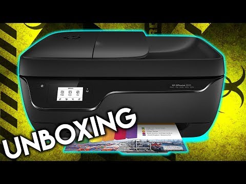 UNBOXING Y PRIMERA INSTALACIÓN IMPRESORA HP OfficeJet 3833 - WIFI PANTALLA TÁCTIL BLACK FRIDAY
