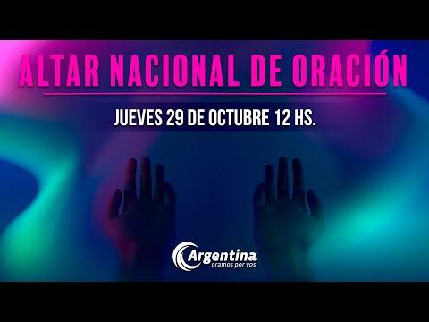 57. Altar Nacional de Oración | Jueves 29/10