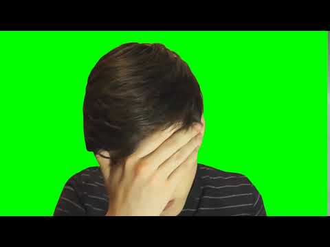 Фейспалм Пикули (футаж, хромакей, зелёный экран)