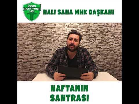 Hali Sahaların MHK Başkanı Arif Sevimli !