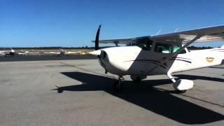 Cessna 172 startup good sound qaulity