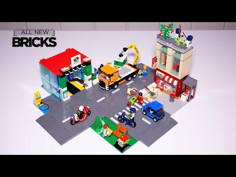 Vidéo LEGO City 60292 : Le centre-ville