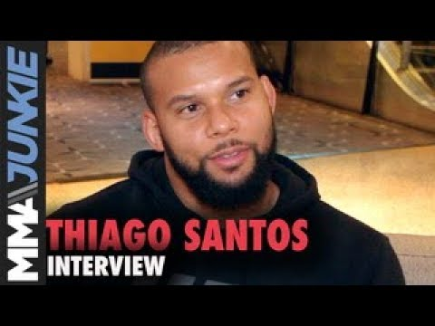 Thiago 'Marreta' Santos hopes for No. 1 contender fight in June return