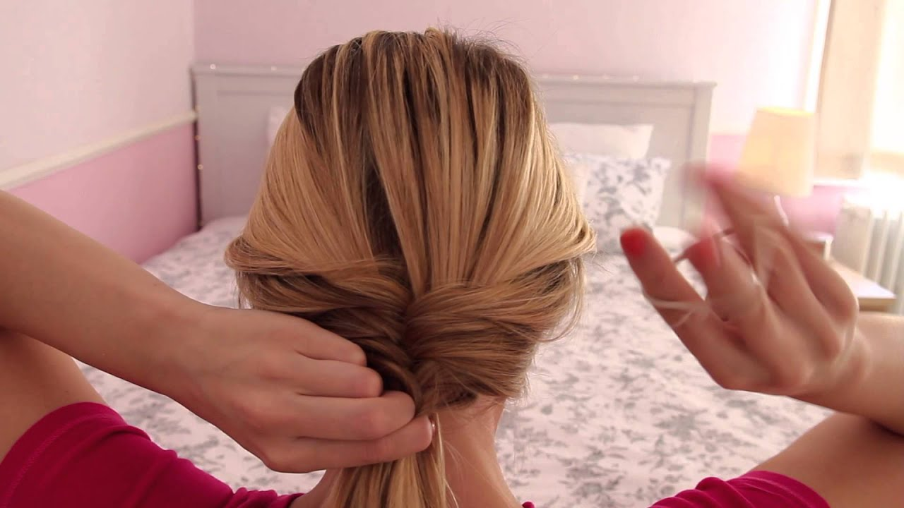 Tutorial: The draped ponytail!