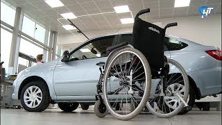 Три жителя области, пострадавшие на производстве, получили ключи от специализированных автомобилей