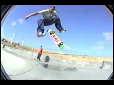 """Antioch Skateboarding 1999-2000. """"Dangerous Goods"""""""