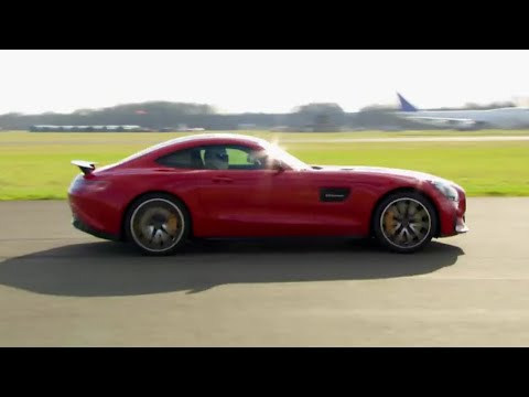 Stig Power Lap: Mercedes-AMG-GT S | Top Gear | BBC