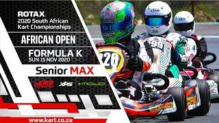 2020 African Open – Senior MAX