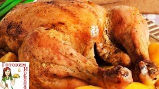 Новогодний рецепт: утка с яблоками в духовке