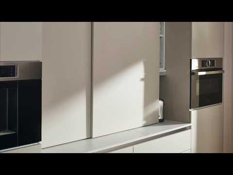 Ballerina-Küchen: Aufsatz-Schiebetüren-Element