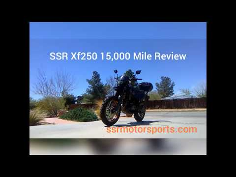 A review of my SSR Motorsports XF 250 Dual Sport