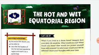 The hot and wet equatorial region
