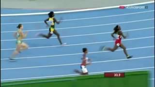 Tiffany James Wins Women's 400m Final IAAF World Junior Championships, Bydgoszcz 2016