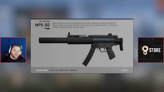 MP5 está de volta! Atualização do CS:GO (15/08/2018)