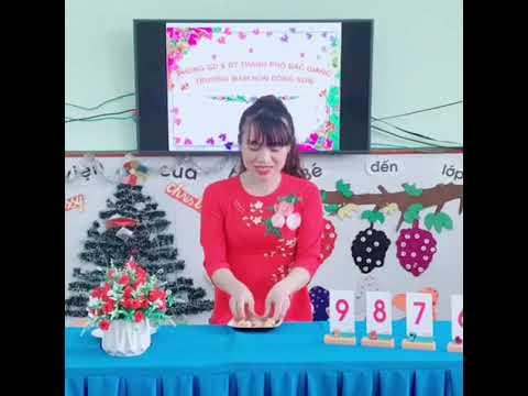 Ôn số lượng từ 1 đến 9 GV Trường MN Đồng Sơn