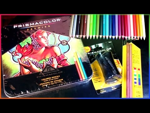 , title : 'Big Prismacolor Premier 72 Color Pencil Set Unboxing'