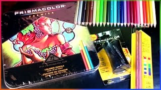 Big Prismacolor Premier 72 Color Pencil Set Unboxing
