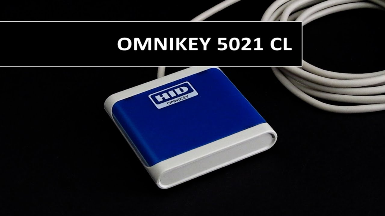 HID 5021 CL OMNIKEY USB Contactless Reader R50210218-DB